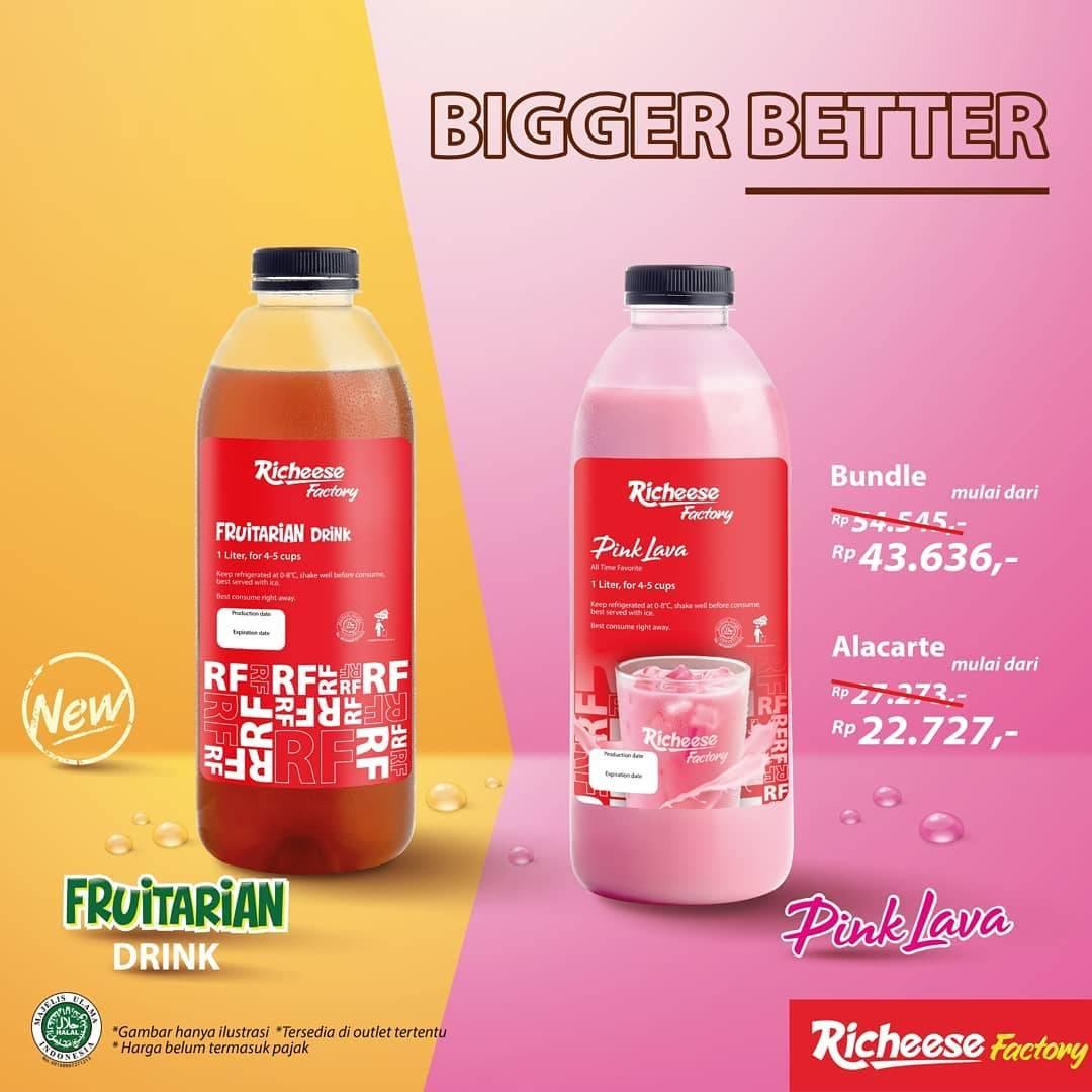 Diskon Richeese Factory Promo Bigger Better