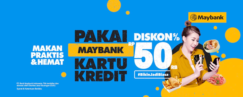 Diskon Dana dan Maybank Kartu Kredit Promo Diskon Sampai 50%