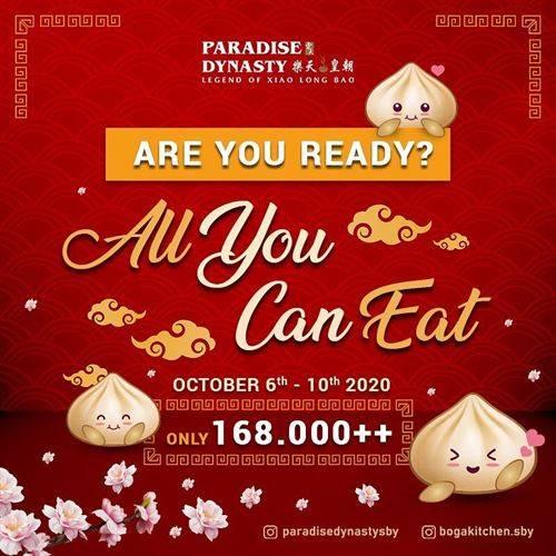 Diskon Paradise Dynasty Promo All You Can Eat Ciputra World