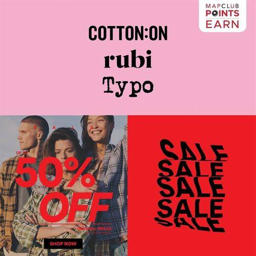 Diskon Cotton On Promo Sale Up to 50%