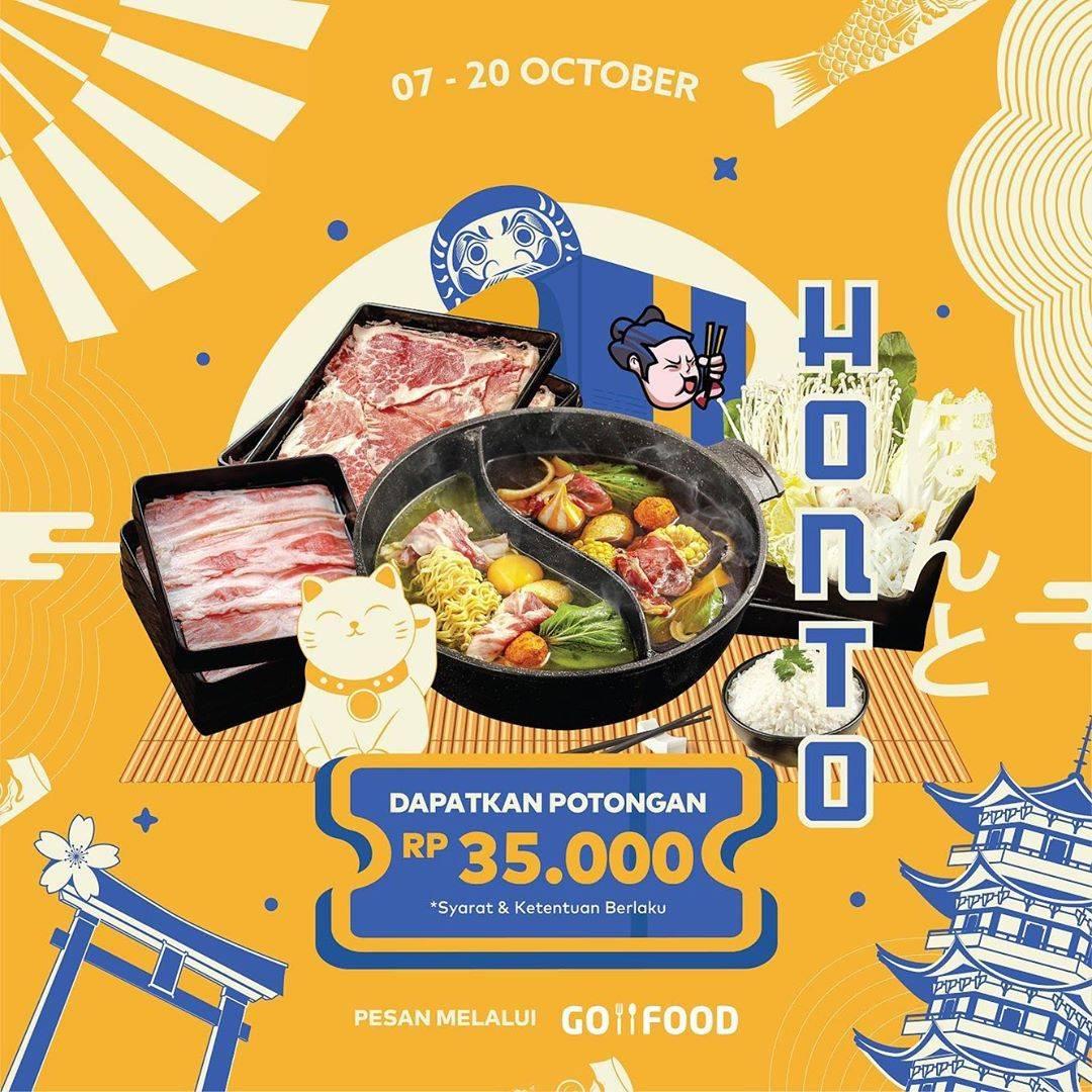 Diskon Kitamura Promo Potongan Rp. 35.000 Di GoFood
