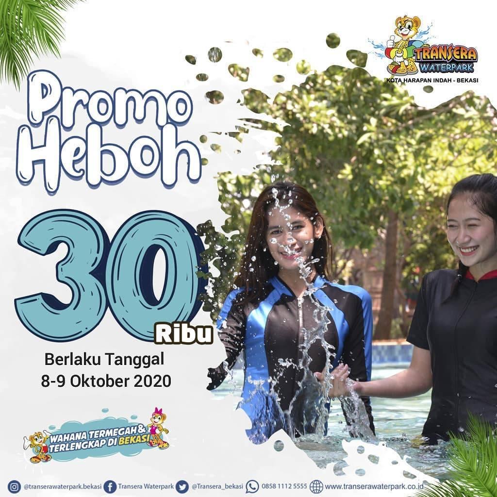Diskon Transera Waterpark Promo Heboh Rp. 30.000