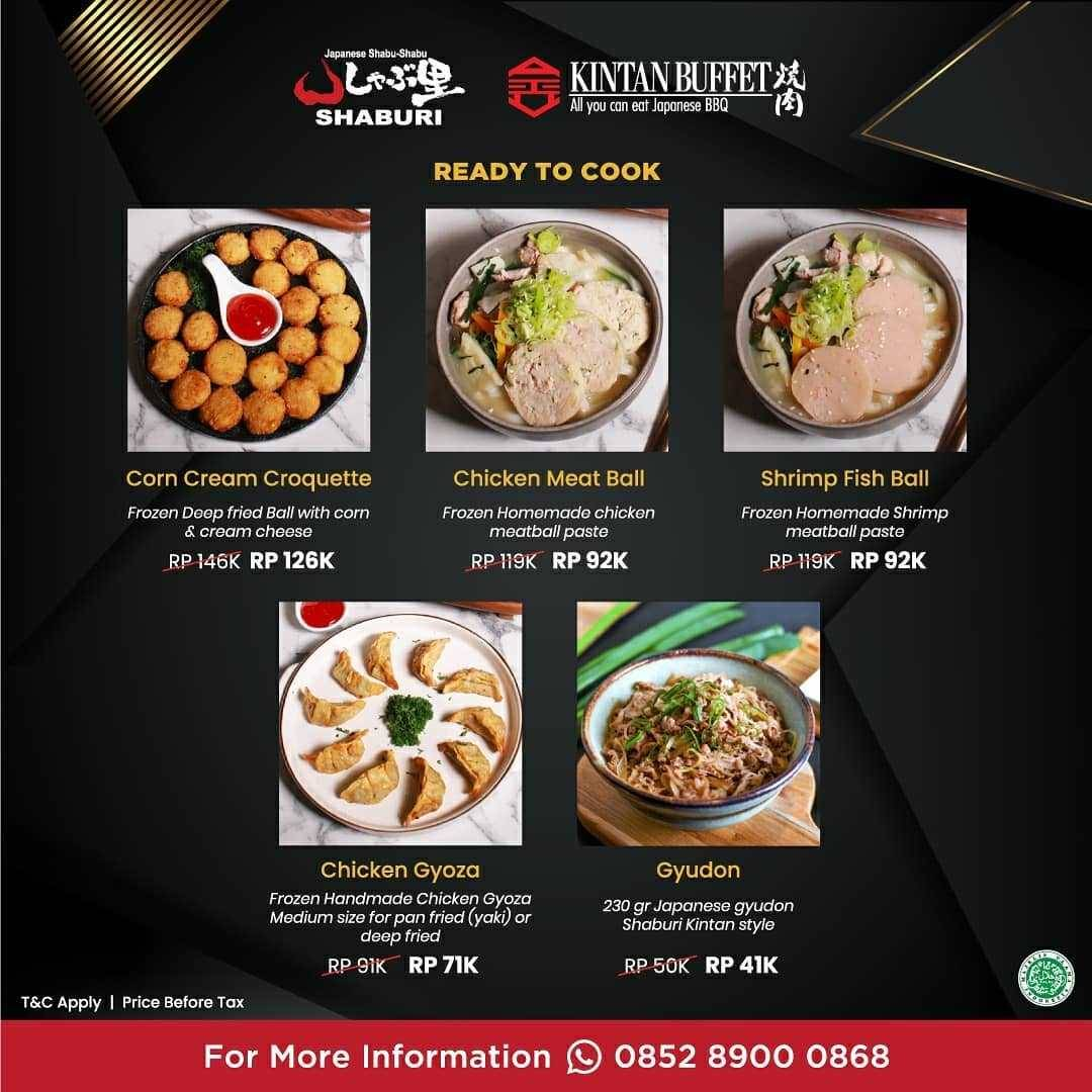 Promo diskon Shabu-Shaburi x Kintan Buffet New Menu October Deal