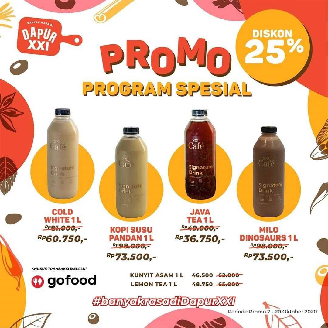 Promo diskon XXI Cafe Promo Banyak Rasa Di Dapur XXI
