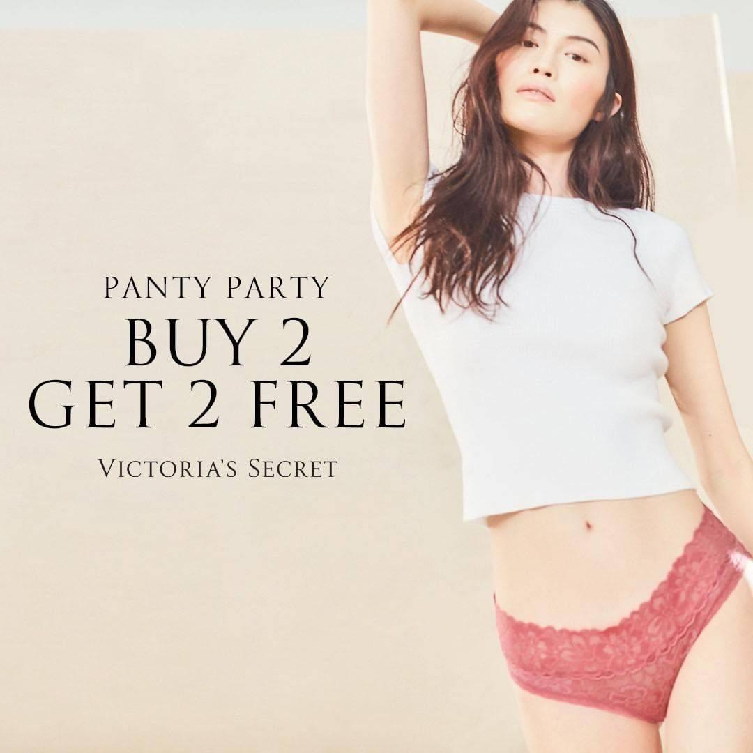 Diskon Victoria Secret Panty Party - Buy 2 Get 2 Free