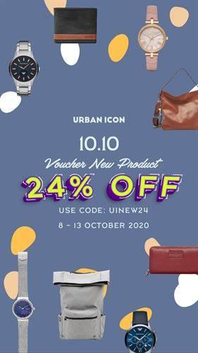 Diskon Urban Icon Promo Enjoy 24% off