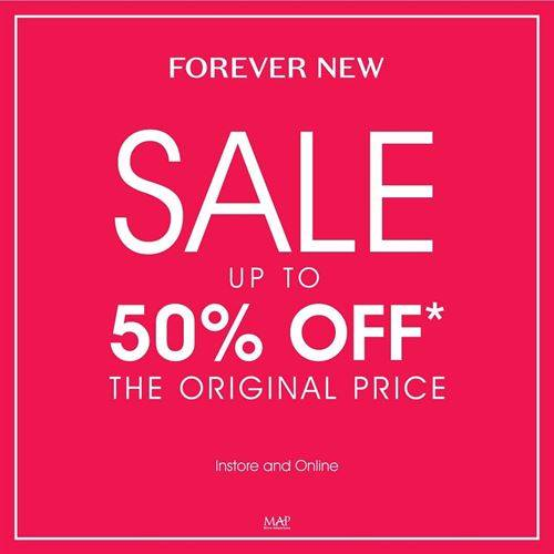 Diskon Forever new Promo Sale Up to 50%