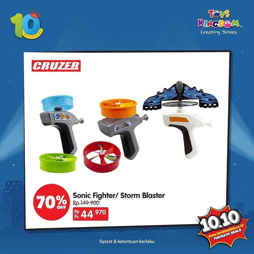 Promo diskon Toys Kingdom Promo 10.10 Funtastic Sale