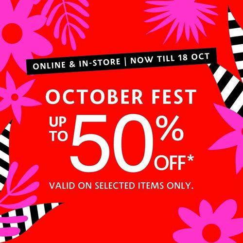 Diskon Sephora Promo Oktoberfest Sale Up to 50%