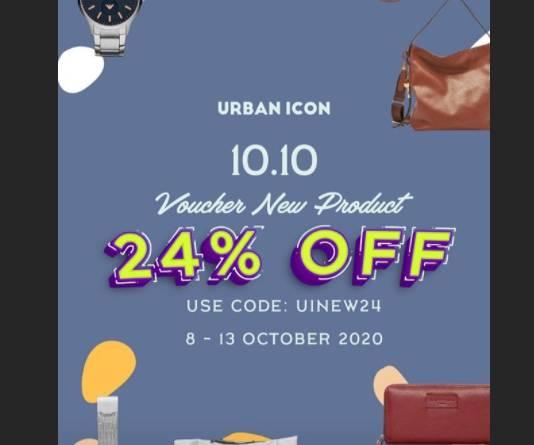 Diskon Urban Icon Promo Tokopedia Sale Up to 70%