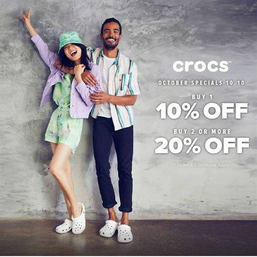 Diskon Crocs Promo Diskon Hingga 20%