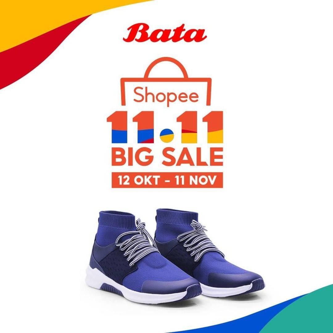 Diskon Bata Promo Shopee 11.11 Big Sale - Diskon Hingga 80%