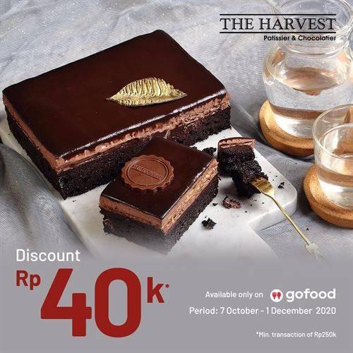 Diskon The Harvest Promo GoFood Diskon