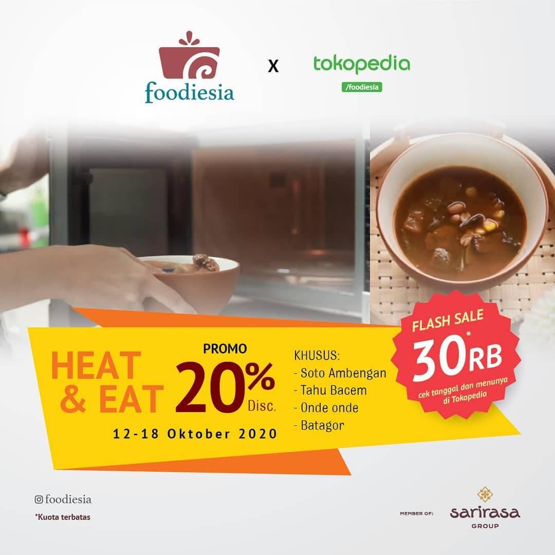 Diskon Sate Khas Senayan Promo Foodiesia X Tokopedia
