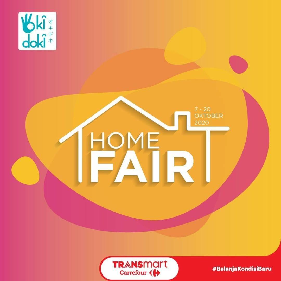 Diskon Katalog Promo Transmart Home Fair Produk Okidoki Periode 7 - 20 Oktober 2020