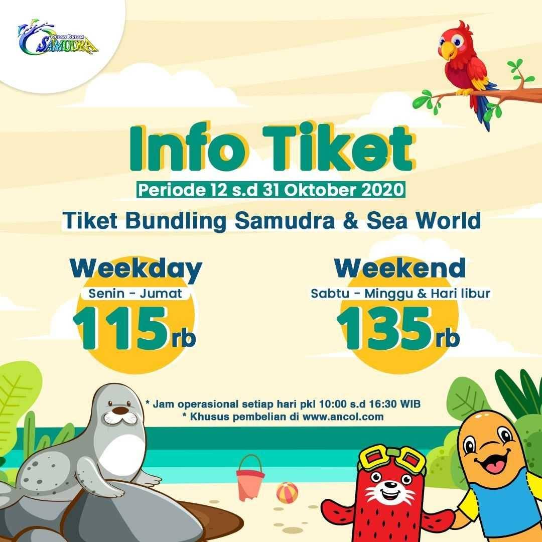 Promo diskon Ocean Dream Samudra & Sea World Promo Tiket Bundling