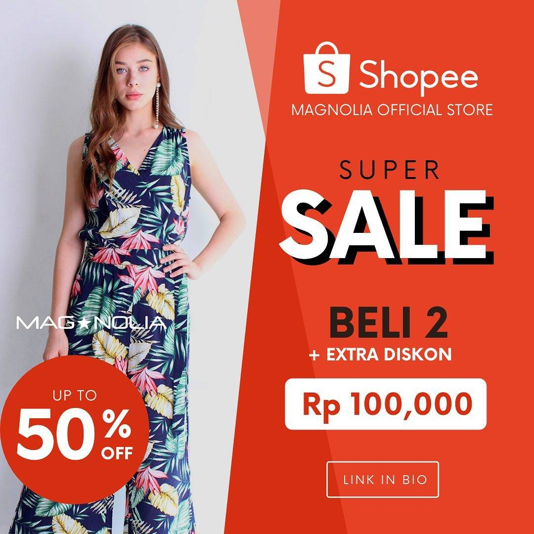 Diskon Magnolia Promo Super Sale Beli 2 Dapat Potongan Rp. 100.000 Di Shopee