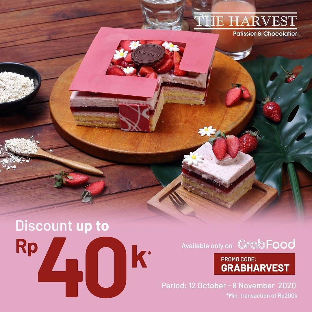 Diskon The Harvest Diskon Hingga Rp. 40.000 Di GrabFood