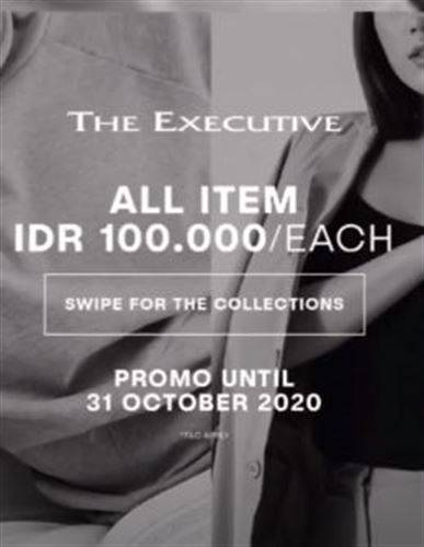 Diskon The Executive Promo All item 100K Only