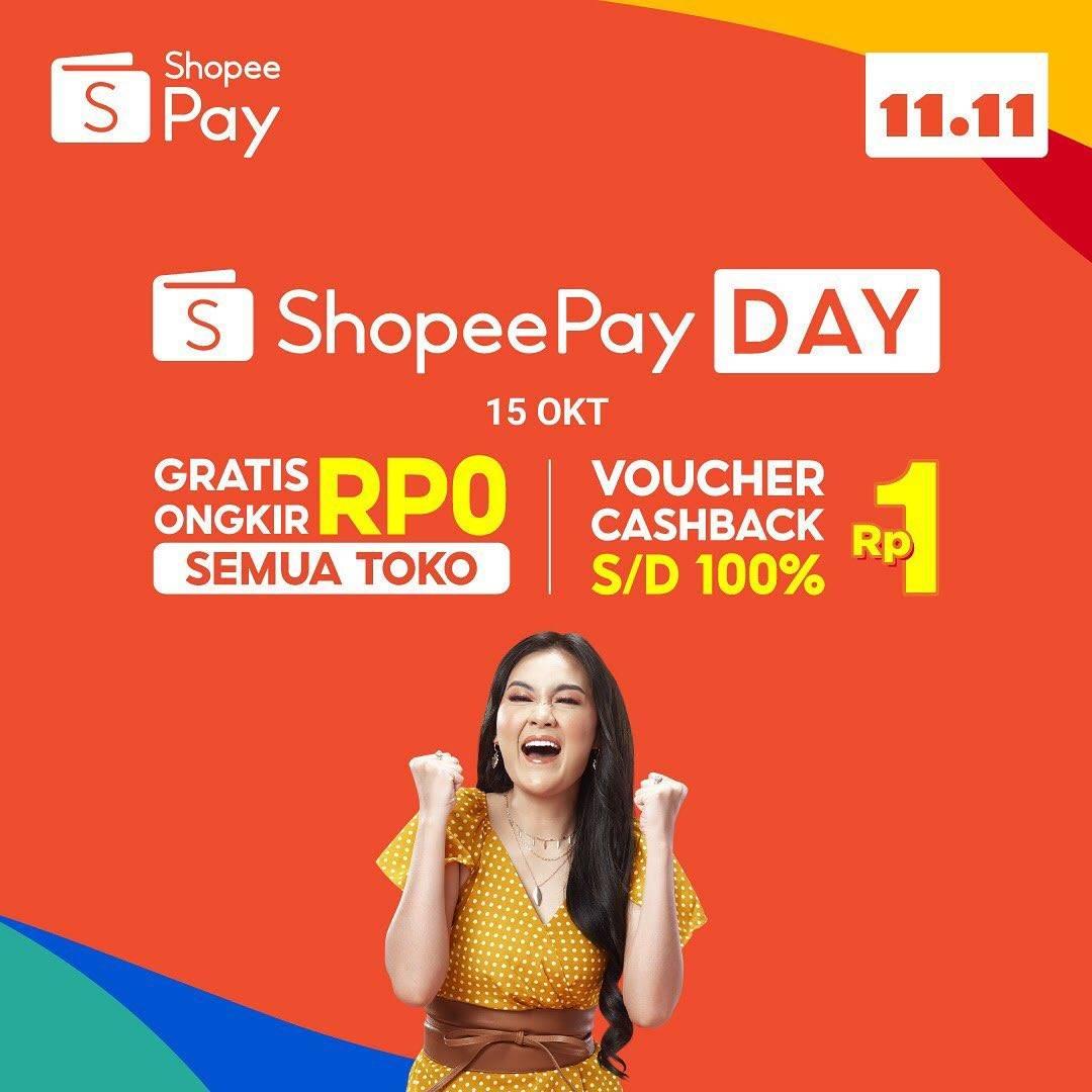 ShopeePay Day di Shopee 11.11 Big Sale, Belanja Tengah Bulan Dijamin Aman