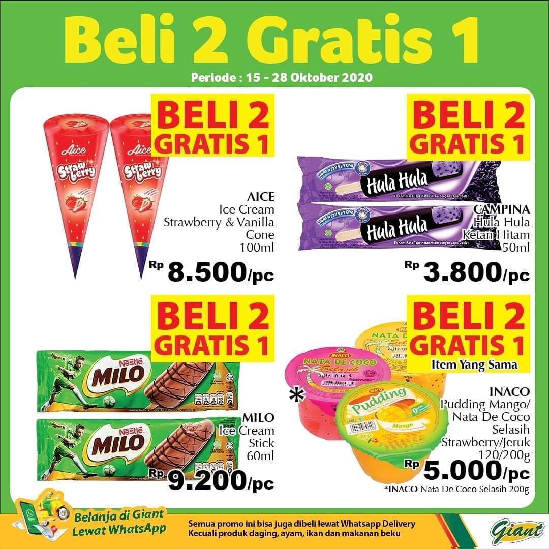 Diskon Katalog Promo Giant Beli 2 Gratis 1 Periode 15 - 28 Oktober 2020