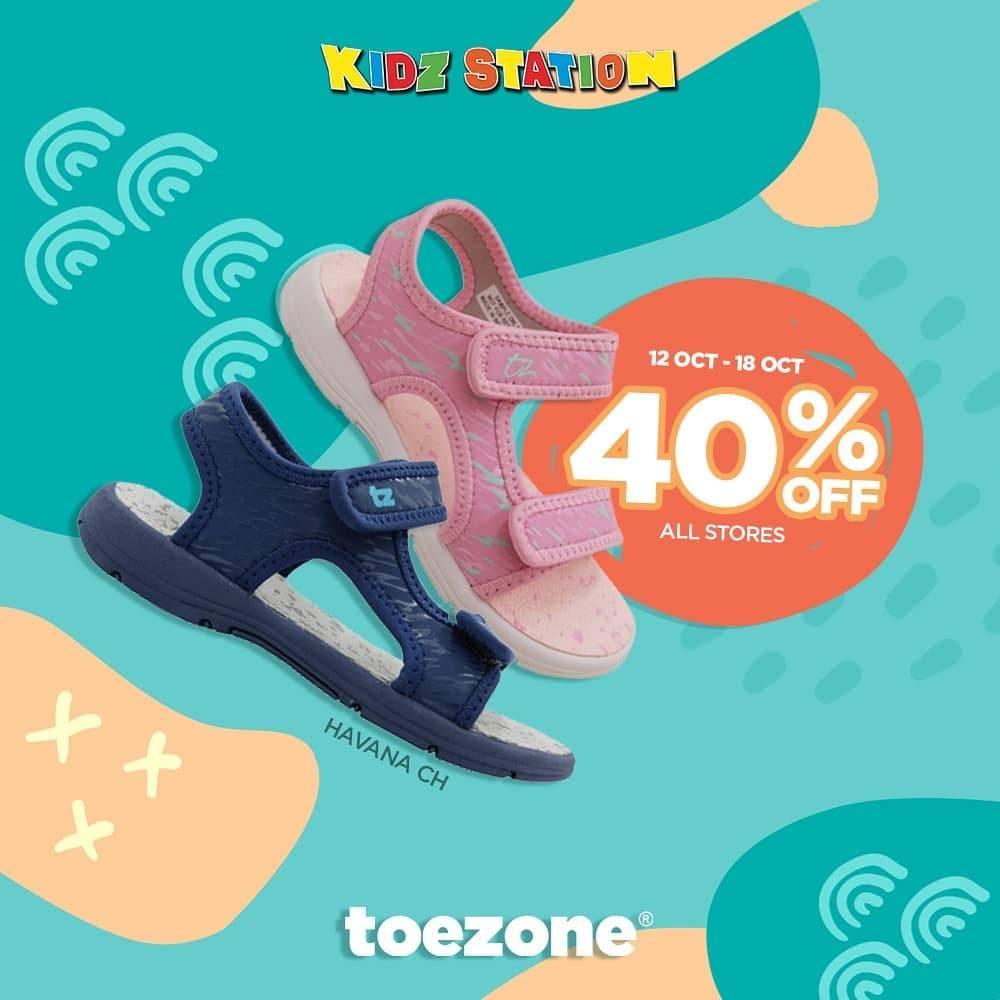 Diskon Kidz Station Diskon 40% Untuk Sepatu Brand Toezone