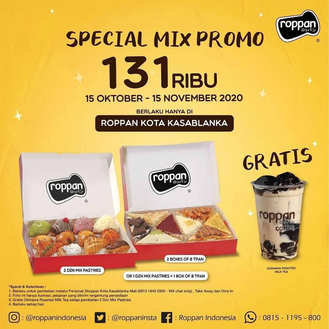 Diskon Roppan Promo Special Mix Hanya Rp. 131.000