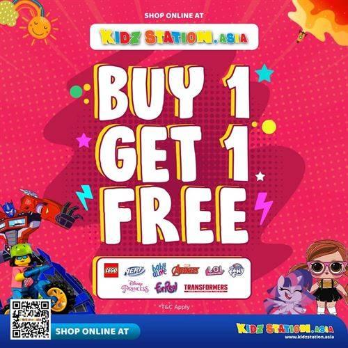 Diskon Kidz Station Promo Buy 1 Get 1 Free