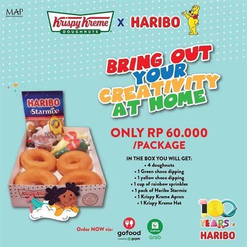 Diskon Krispy Kreme X Haribo Promo Only 60K Per Package