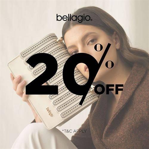Diskon Bellagio Promo Discount 20% Off