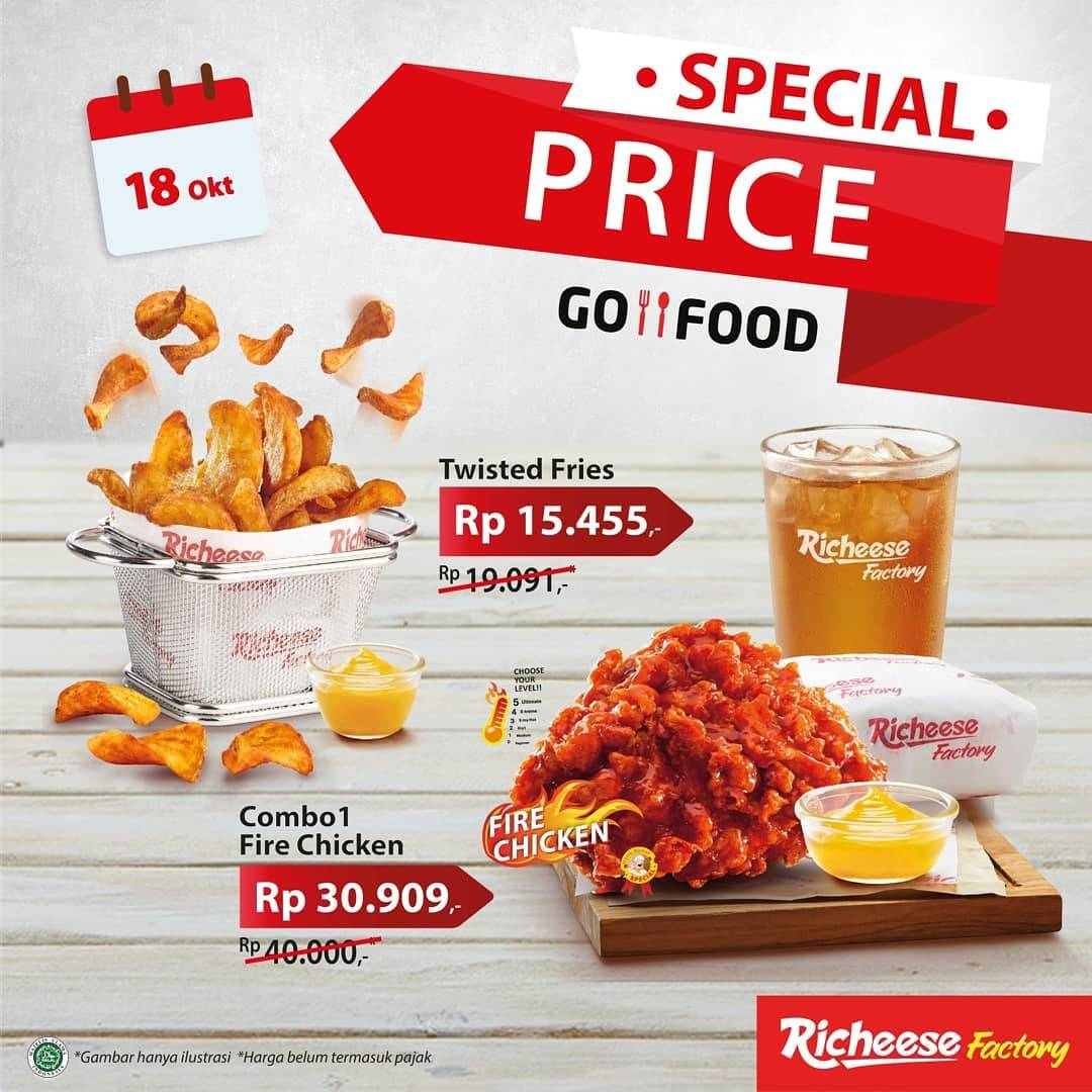 Diskon Richeese Promo GoFood Special Price