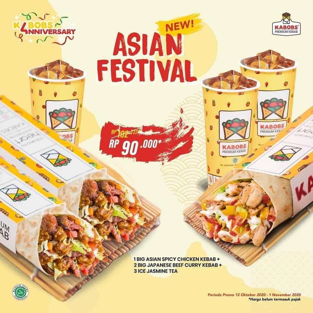 Promo diskon Kabobs Promo Asian Festival Package