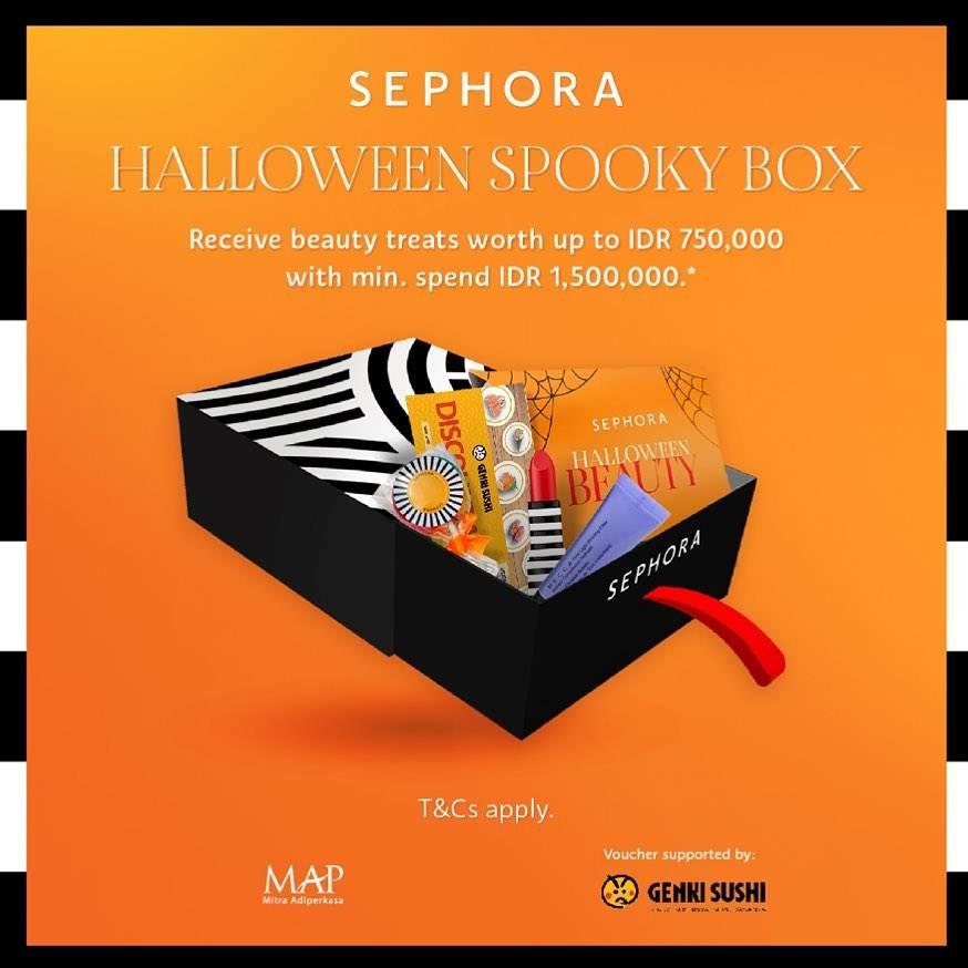 Diskon Sephora Promo Helloween Spooky Box