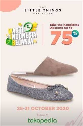 Diskon The Little Things She Needs Promo Tokopedia Up to 75% OFF
