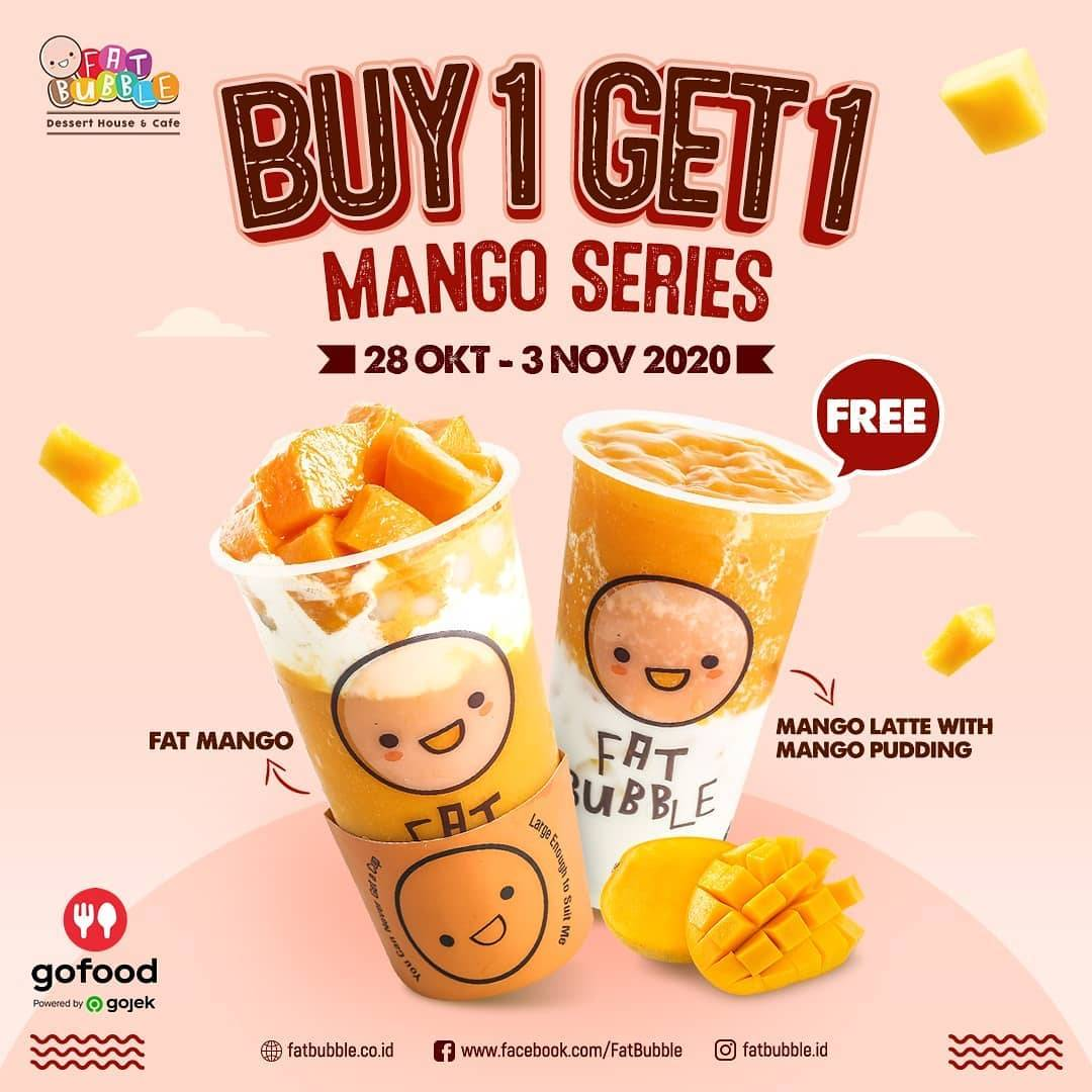 Diskon Fat Bubble Buy 1 Get 1 Free Mango Series