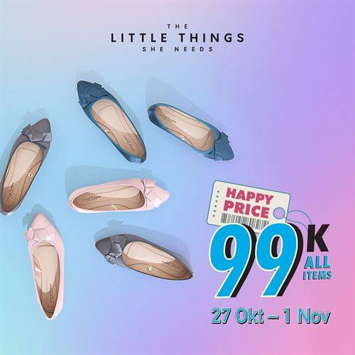 Diskon The Little Things She Needs Promo All Item IDR 99K
