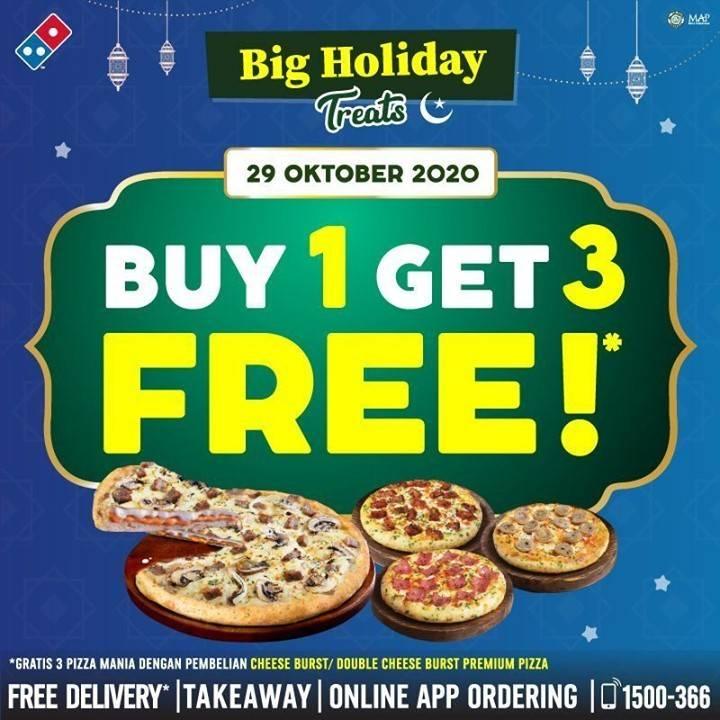 Diskon Domino Pizza Dan Promo Domino Pizza Terbaru Desember 2020