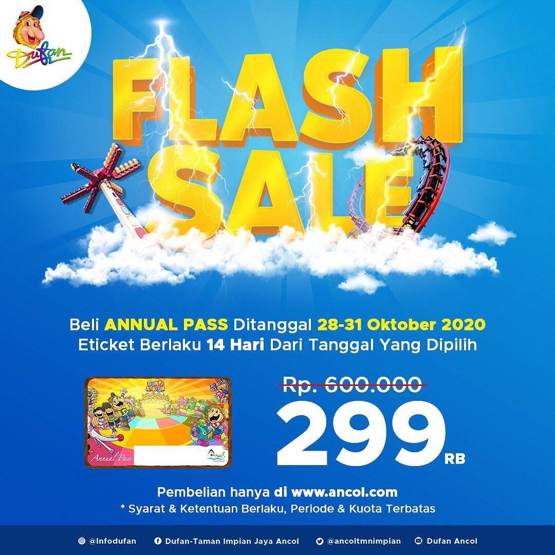 Diskon Dufan Flash Sale Annual Pass Hanya Rp. 299.000