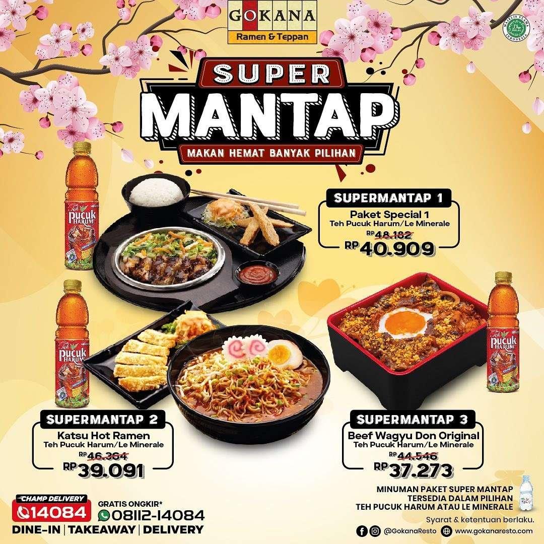 Diskon Promo Gokana Ramen Super Mantap mulai Rp 37k
