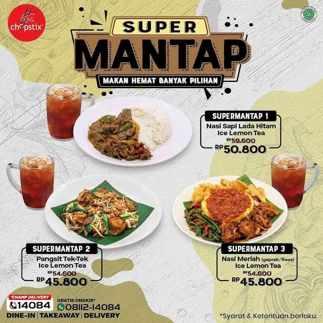 Diskon Chopstix Promo Super Mantap Mulai Rp 45 Ribuan