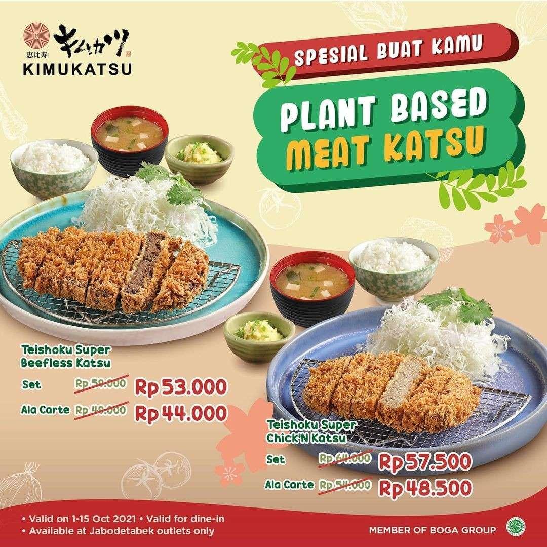Diskon Kimukatsu Promo Plant Based Katsu Menu