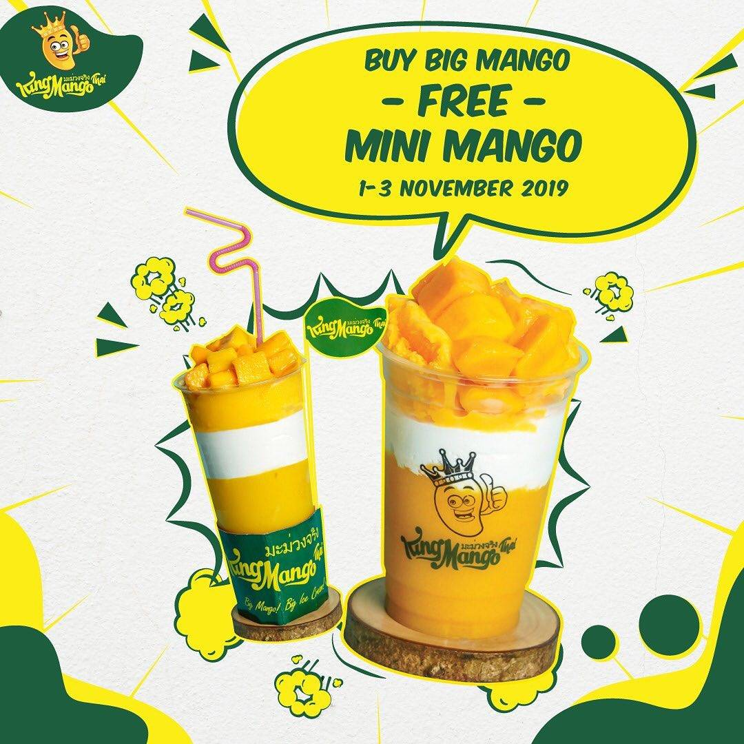 King Mango Promo BELI 1 Big Mango Free Mini Mango