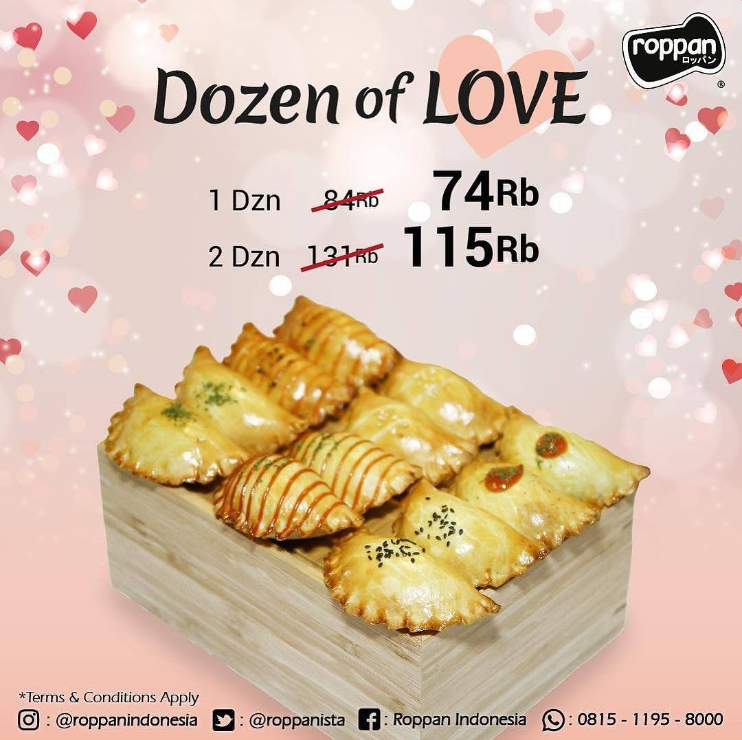 Roppan Promo Dozen Of Love 1 lusin Petite Pastel 74rb dan 2 lusin 115rb
