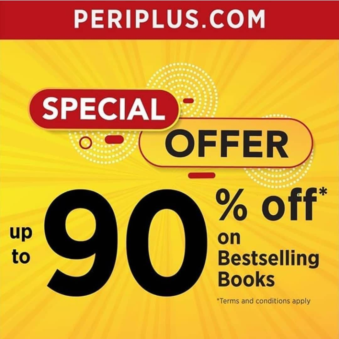 Periplus Online Promo Discount up to 90% on Best Selling Books
