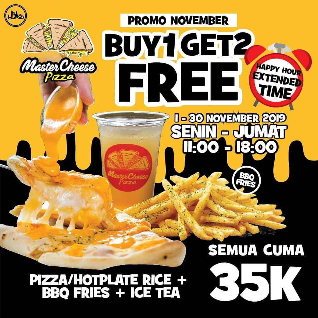 Master Cheese Pizza Promo Hemat November 2019