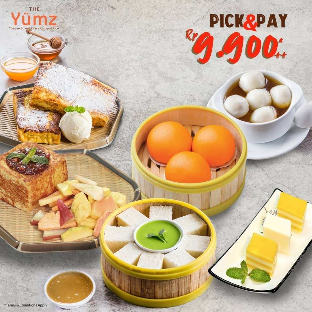 The Yumz Pick and Pay Menu Pilihan Hanya Rp. 9.900++