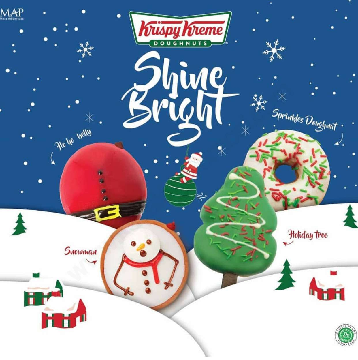 Krispy Kreme Special Holiday Edition Doughnuts