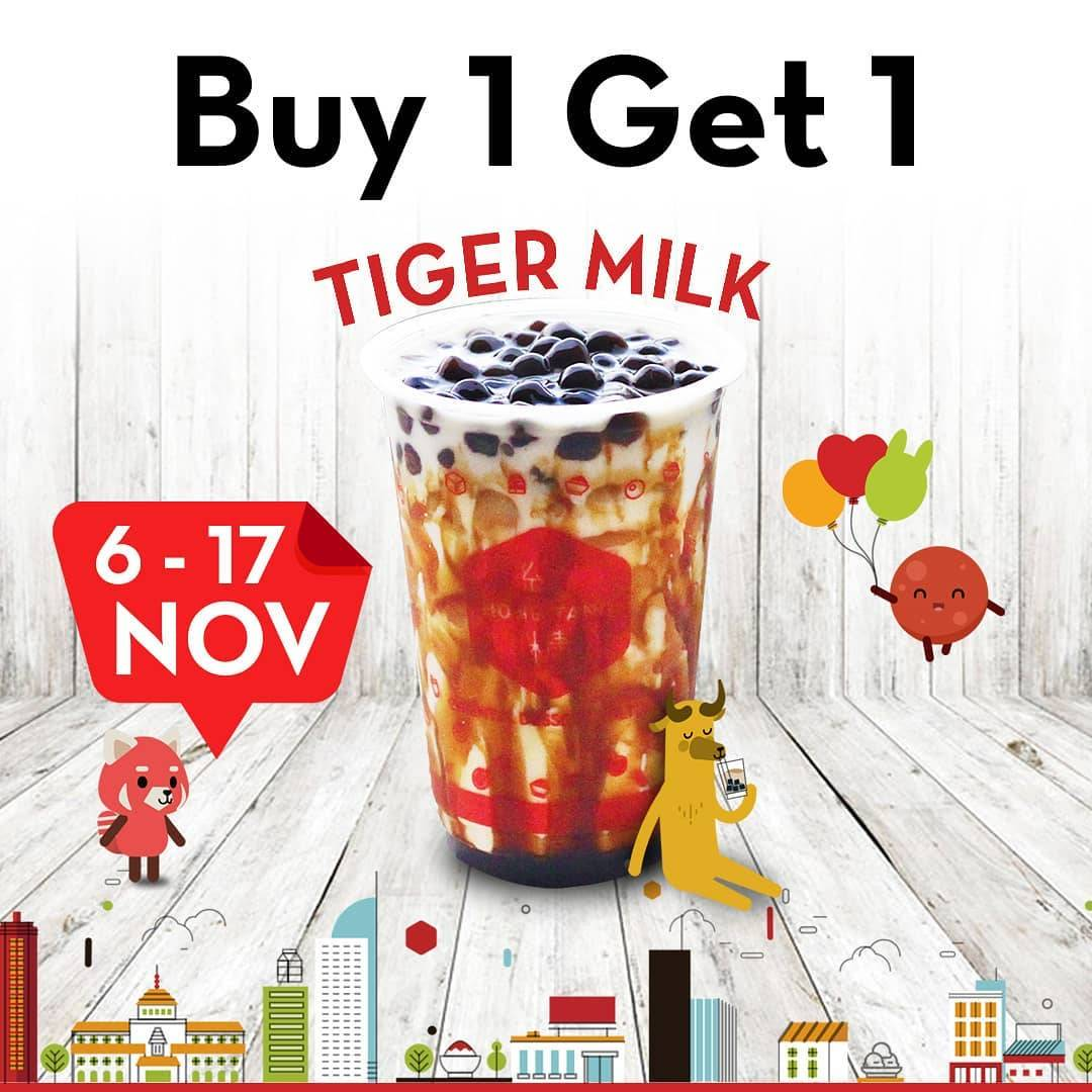 Hong Tang Promo Buy 1 Get 1 Tiger Milk