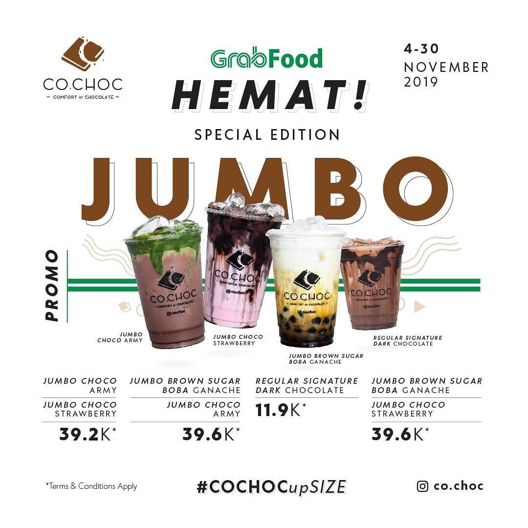 Co Choc Promo 4 Pilihan Paket Hemat via GrabFood