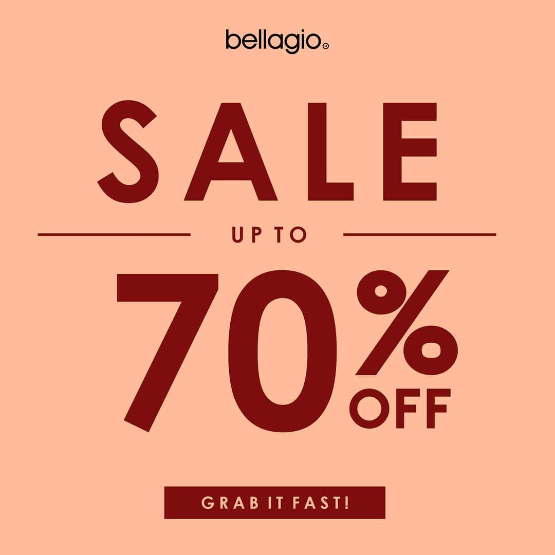 Diskon Bellagio Sale Up To 70% Off